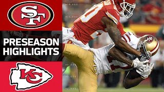 49ers vs. Chiefs | NFL Preseason Week 1 Game Highlights