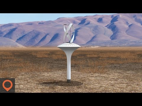 This Turbine Creates Water Out Of Thin Air!