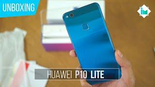 Huawei P10 Lite - Unboxing en español