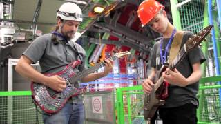 Google Science Fair takes the CMS Guitar underground Thumbnail