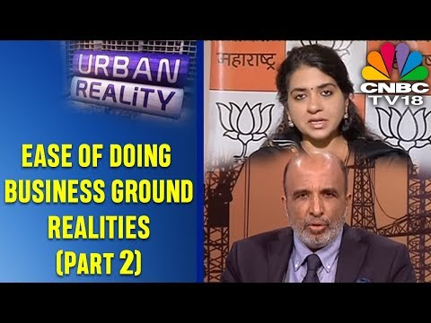 URBAN REALITY EP 30: EASE OF DOING BUSINESS GROUND REALITIES (SEG 2) | CNBC TV18