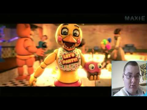 [Fnaf Sfm] Fnaf Song Alternative Metal Cover Reaction!!!