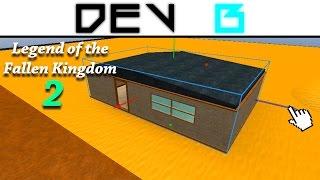 Roblox: Legend of the Fallen Kingdom 2: Desert Village Building: Part 1