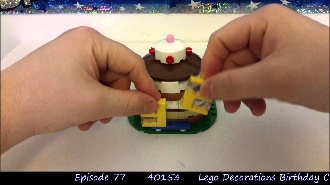 Lego Birthday Cake 40153 Model Moment Episode 77