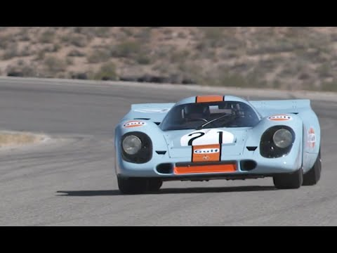 Flat Out in a Porsche 917 - Shakedown for Rennsport Reunion V