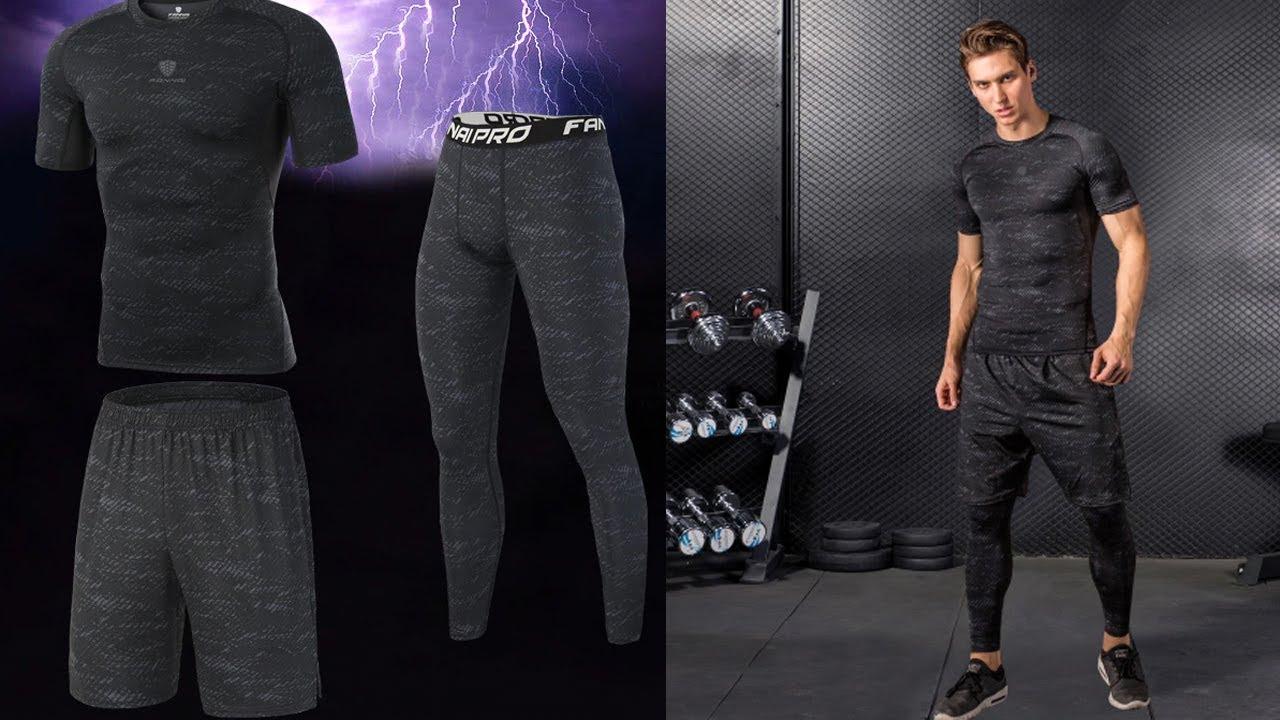 Спортивная Одежда для Фитнеса. Костюм Бега и/Running and Fitness Suit с AliExpress