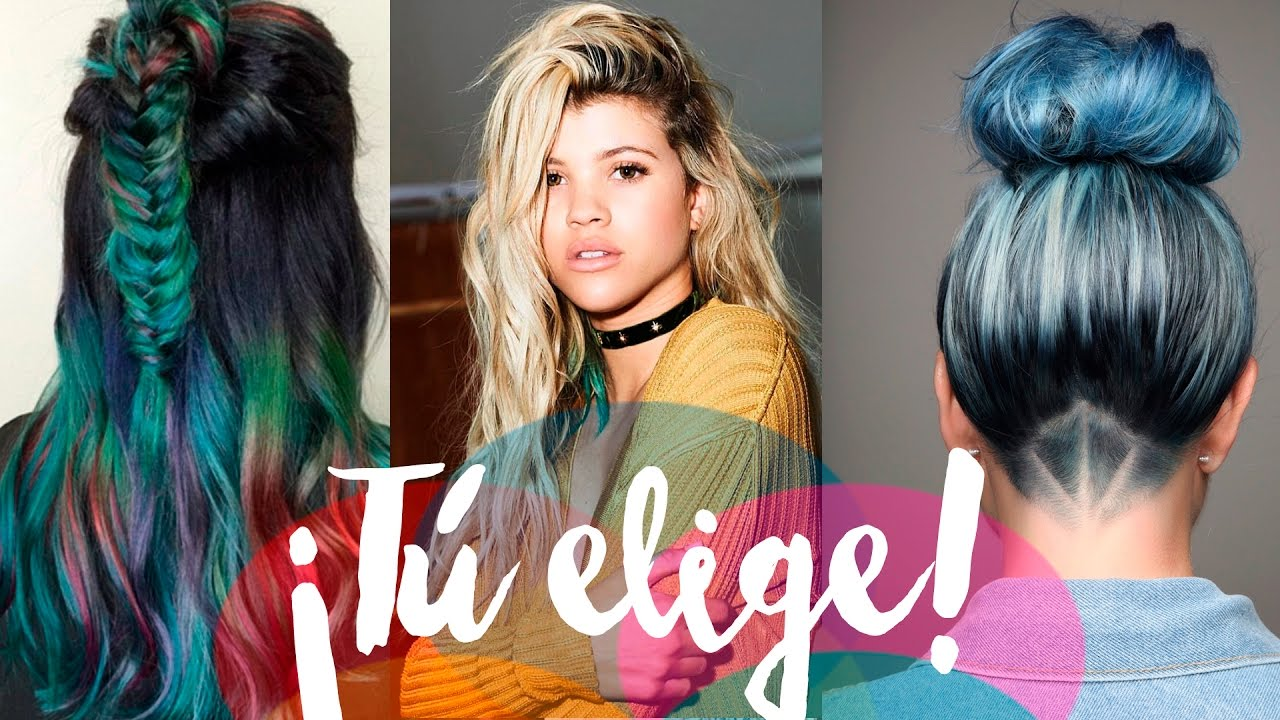 Las 10 TENDENCIAS de COLOR2017 Cabello YouTube