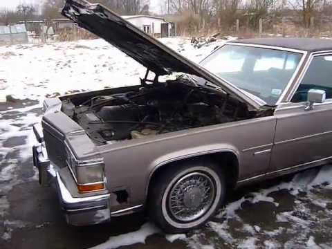 Cadillac Fleetwood For Sale >> HT4100 Cold Start 1983 Cadillac Fleetwood Brougham d ...
