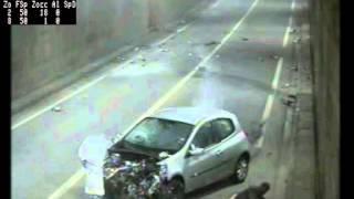 emitec flir tunnel Bastia Corsica crash
