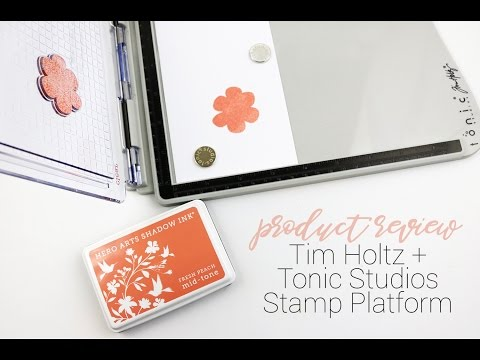 Tim Holtz Stamp Platform | Product Review