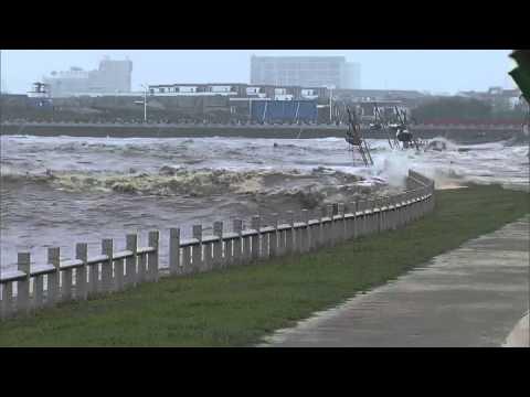 錢塘 30米的潮水好驚人
