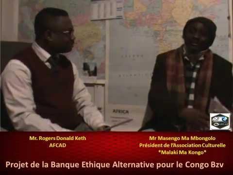AFCAD: Projet de Finance Ethique pour le Congo - MASENGO