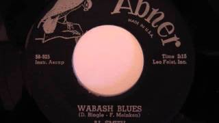 Al Smith- Wabash Blues (featuring Cliff Davis)
