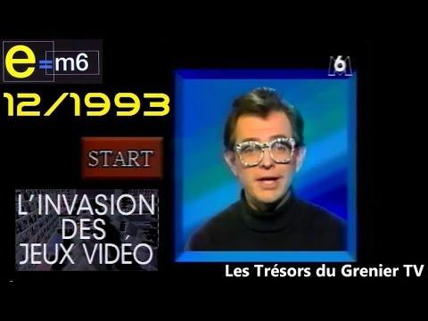 e m6 emission speciale jeux vid o de 1993 1er partie 1 2 youtube. Black Bedroom Furniture Sets. Home Design Ideas