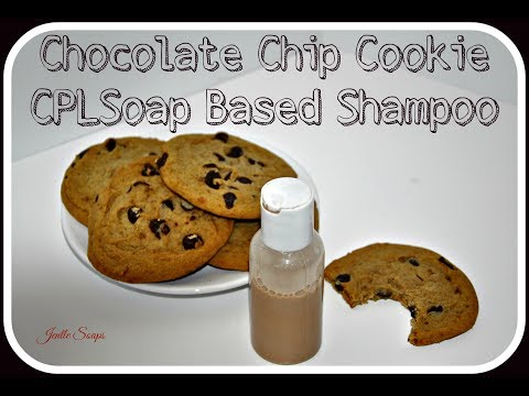 Making Chocolate Chip Cookie Shampoo | Cold Process Liquid Soap DIY  | Jentle Soaps |  How It's Made