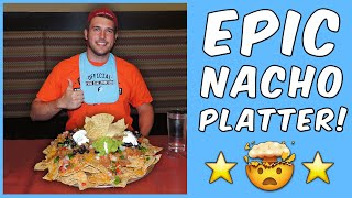Nacho Eating Challenge (From Man v Food)