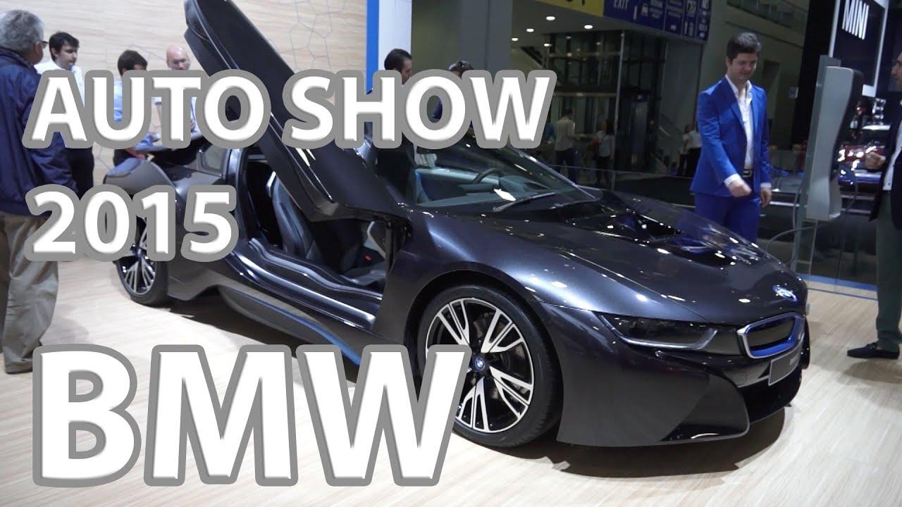 Car Show 2015 >> Istanbul Auto Show 2015 Bmw Youtube