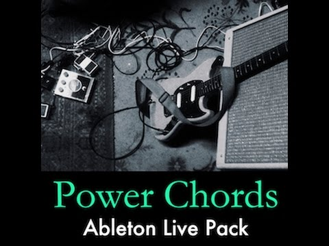 Electric Guitar Power Chords Ableton Live Pack - YouTube