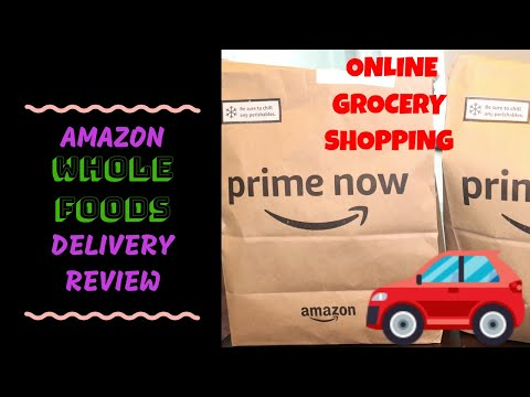 AMAZON WHOLE FOODS DELIVERY (PRIME NOW)