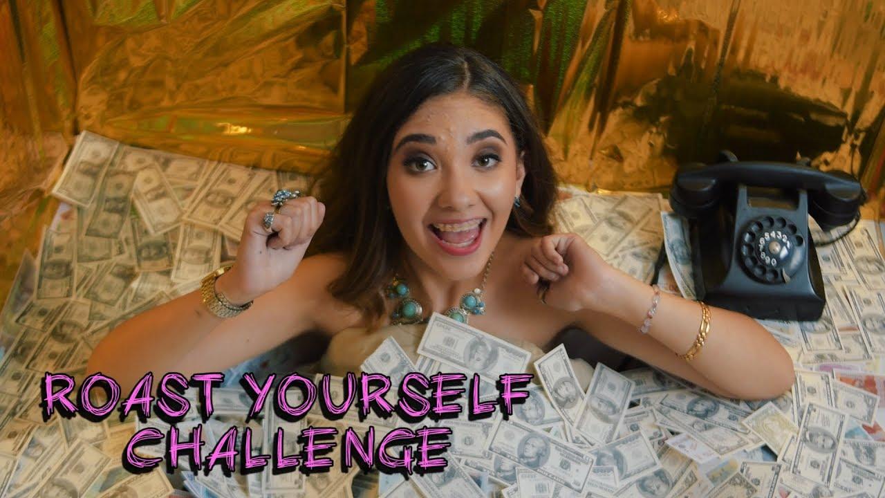 Roast Yourself Challenge Amara Que Linda Youtube