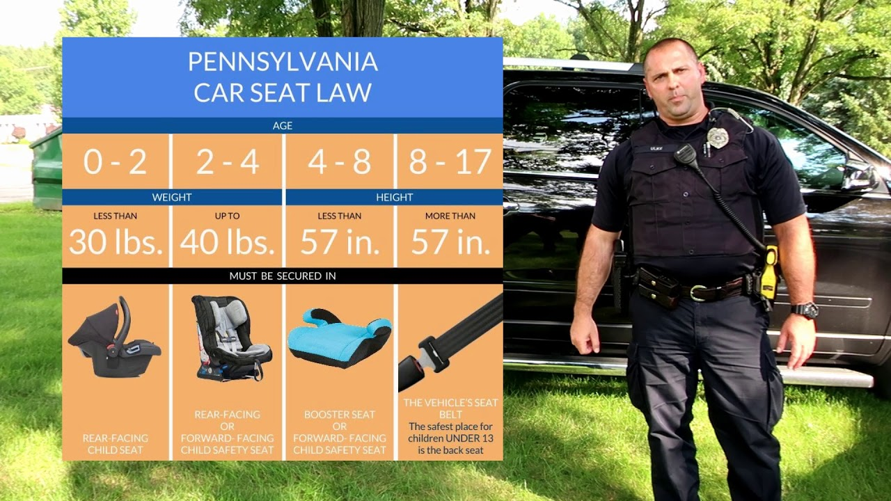 2017 PA New Car Seat Law