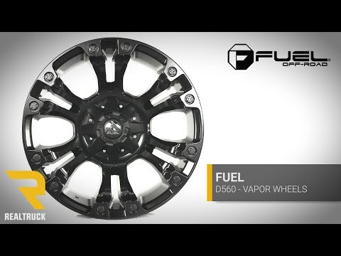 Fuel Matte Black Vapor Wheels