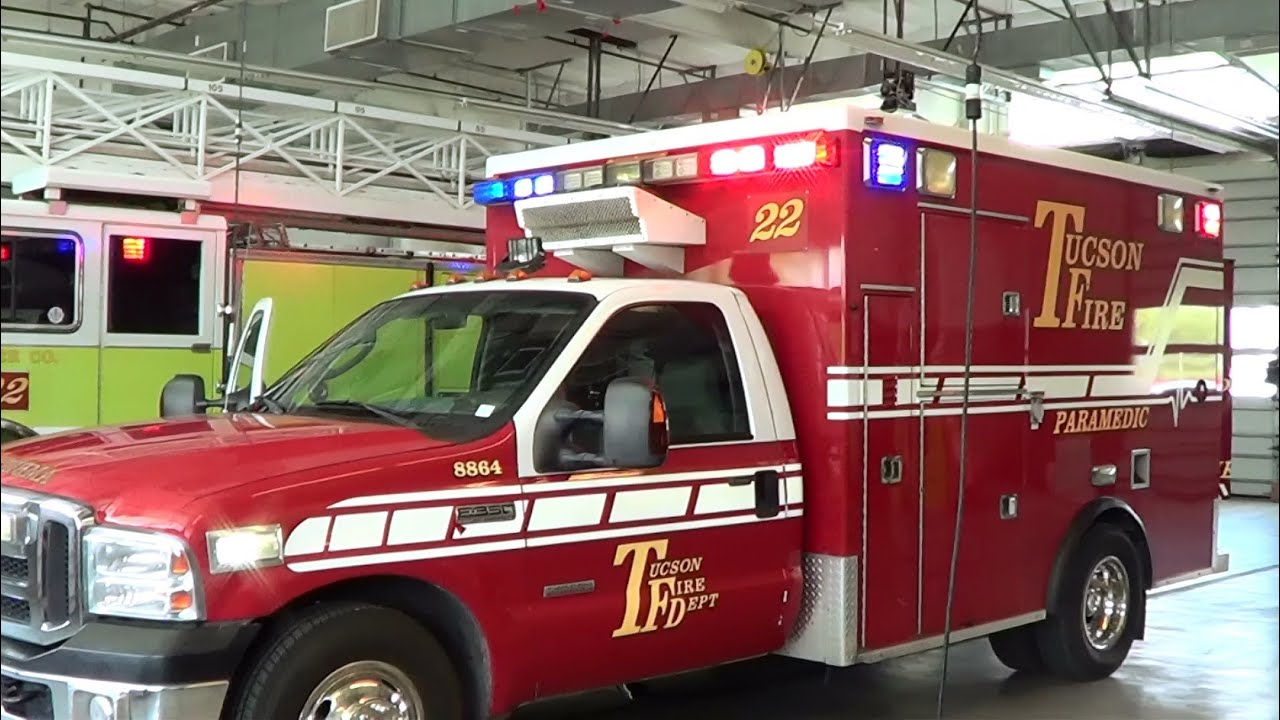 Tucson Fd Medic 22 Lights Setup Walk Around Az 6 2015