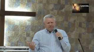 Проповедует Владимир Ильчук - пастор церкви