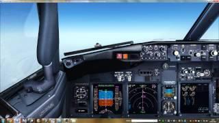 Полет в сети ВАТСИМ по маршруту UUEE-UWWW