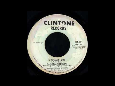 1970_586 - Rozetta Johnson - A Womans' Way - (45)