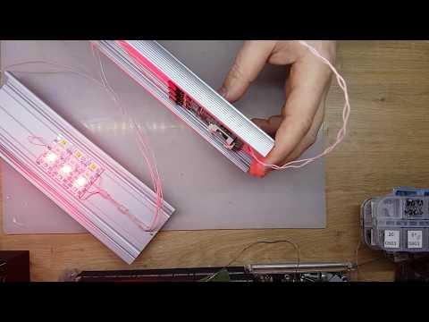 Подключение LED контроллера AQUAPLANNER MINI+