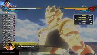 Dragon Ball Xenoverse 2: Soul Punisher Backward