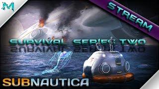 Subnautica Survival! Aurora and Cyclops with Reggie! (Stream Series)