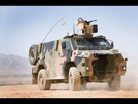 Bushmaster Protected Vehicle - Thales