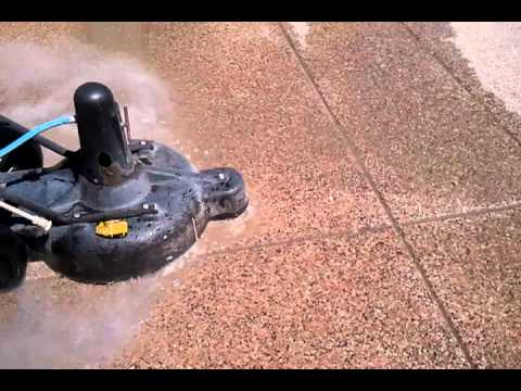Cleaning Exposed Aggregate Driveway Removing Gum, Oil,Paint and Tar for Sealing in Chandler, Arizona