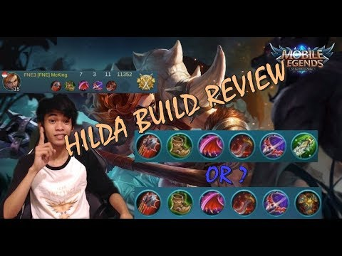 Hilda Build Tank Atau Fighter Bro  - Mobile Legends #3