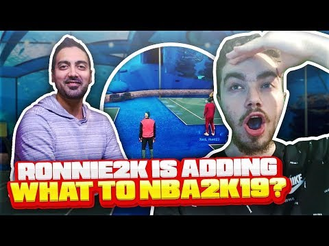 RONNIE2K SAID NBA 2K19 IS GOING TO ADD WHAT?