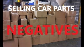 eBay Business: Negatives I have learned from parting out cars for profit, selling car parts on ebay