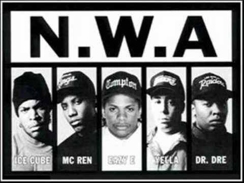 N.W.A - Chin Check HQ Original version with lyrics