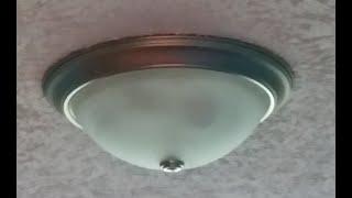 Installing new flush mount light fixtures