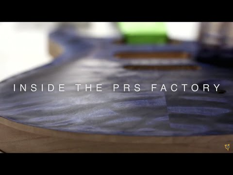 Inside the PRS Guitars Factory (2015)