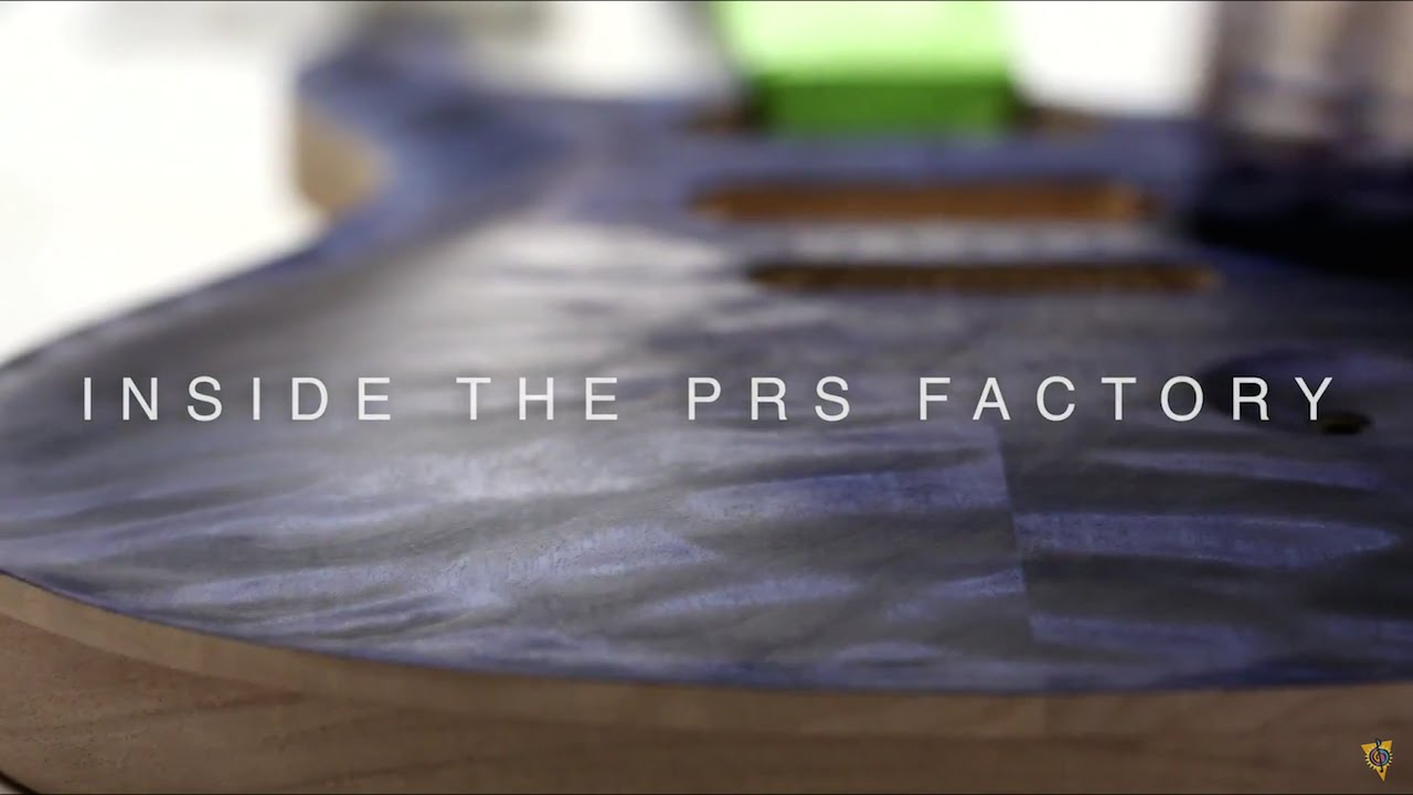 inside the prs guitars