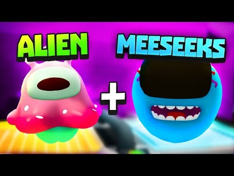 CAN MEESEEKS COMBINE WITH THE ALIEN? - Rick and Morty: Virtual Rick-ality VR - VR HTC Vive Pro