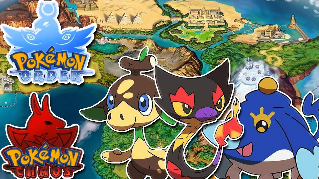 A *NEW* African + Egyptian Region!? | Pokemon Order & Chaos (Starters & Story Reaction)