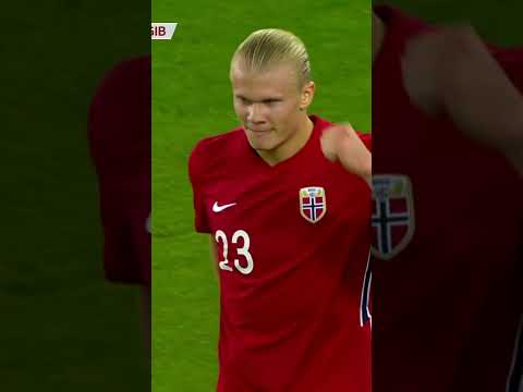 Erling Haaland smashes in a hat trick as Norway beats Gibraltar   #Shorts   ESPN FC