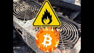 Mining Crypto Is Fire Hazard! Viewer Discretion Is Advised
