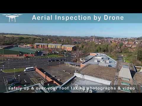 External Building Inspection & Roof Surveys Using a Drone