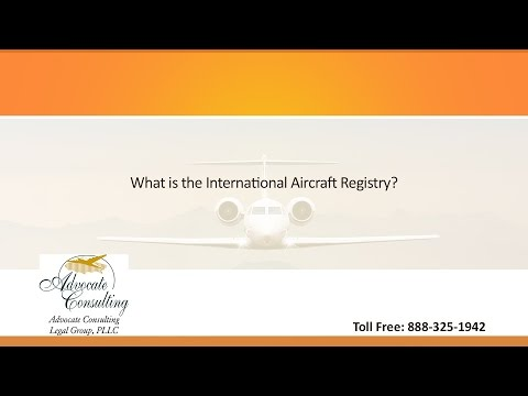 What is the International Aircraft Registry?