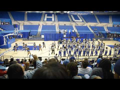 Hampton University - Accepted Student Day 2017 - Marching Band