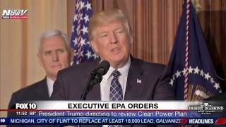 WATCH: President Trump Signs Executive EPA Orders